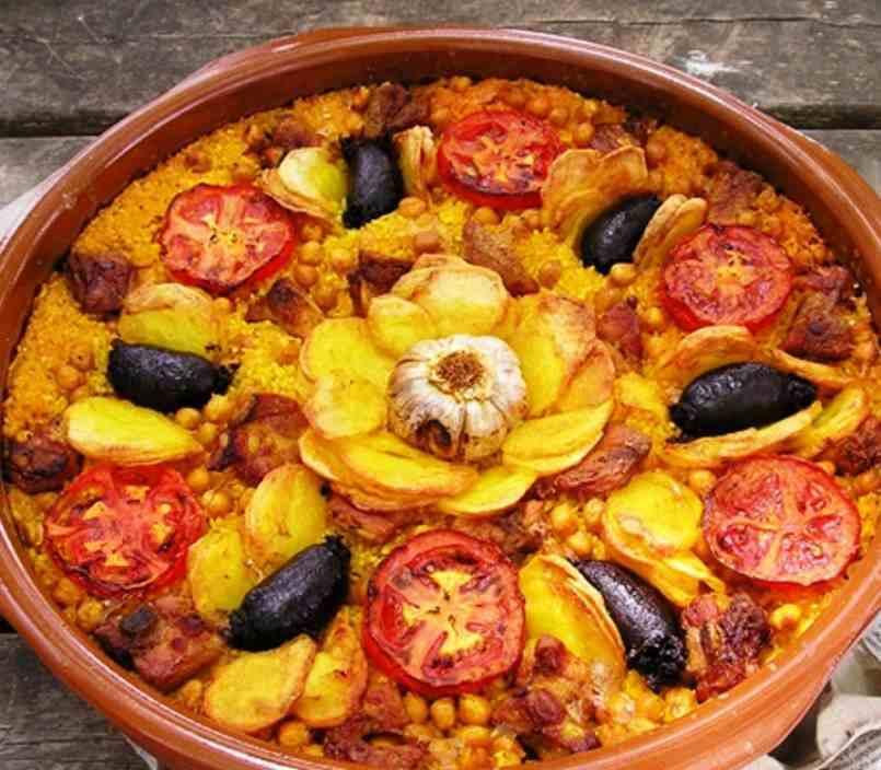 Image result for arroz al horno