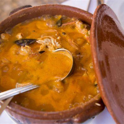 arroz de marisco caldoso portugues