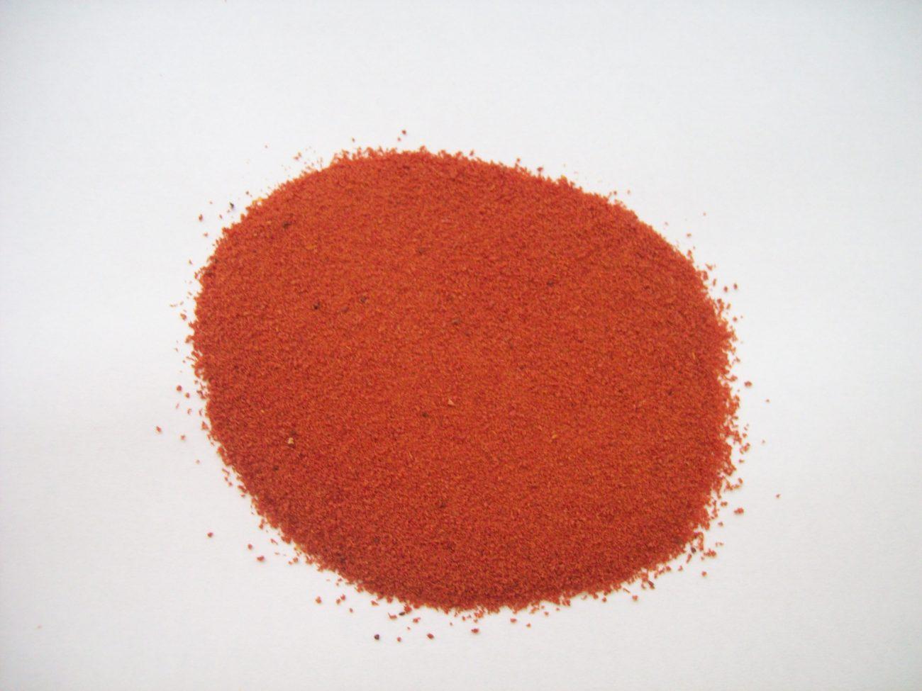 Polvo de tomate casero