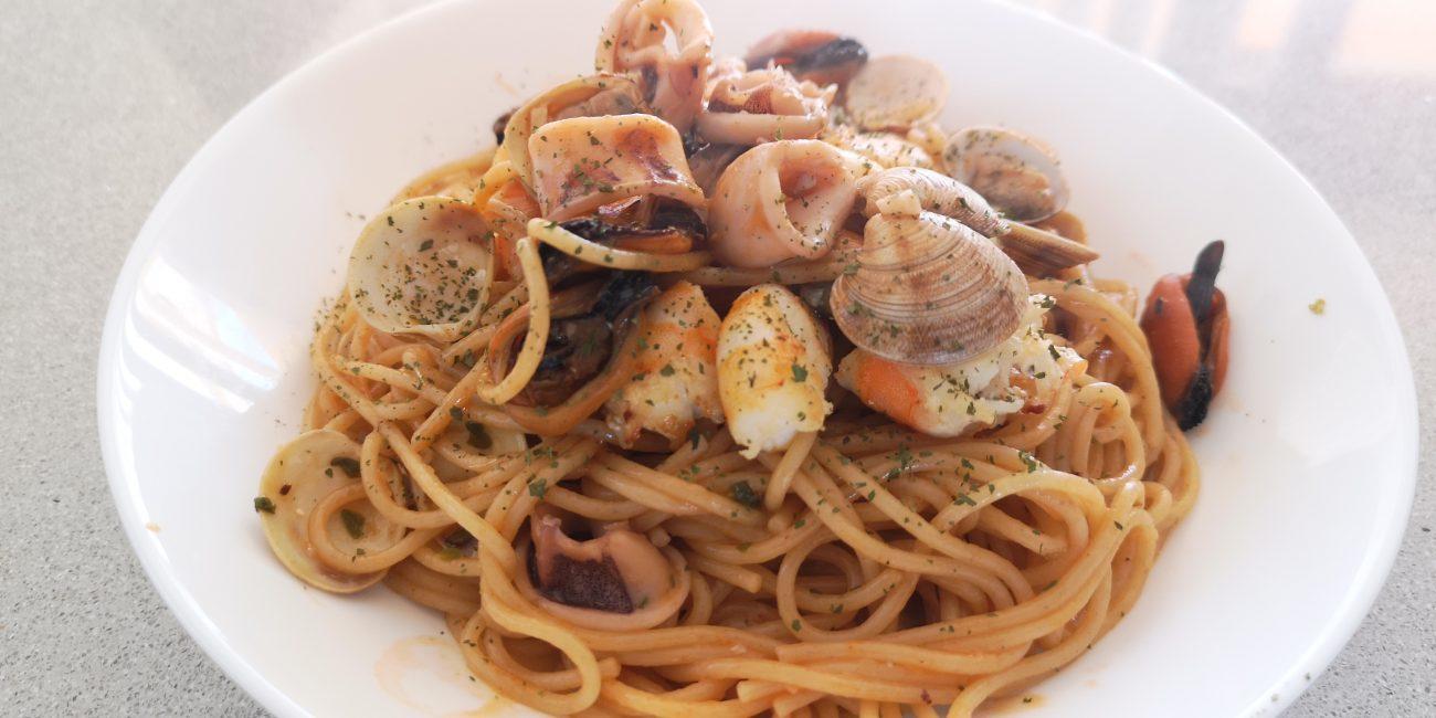 Espaghetti al frutti di mare